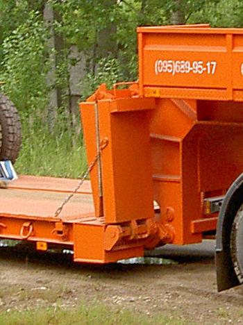 Дополнительное оборудование Передние трапы раскладные